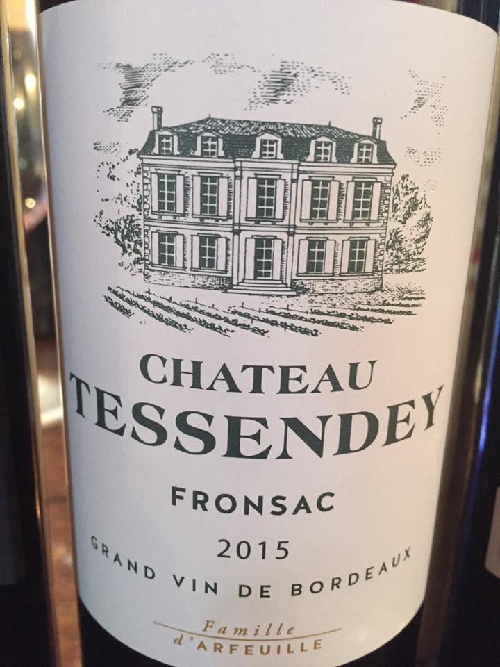Château Tessendey 2015 – Fronsac