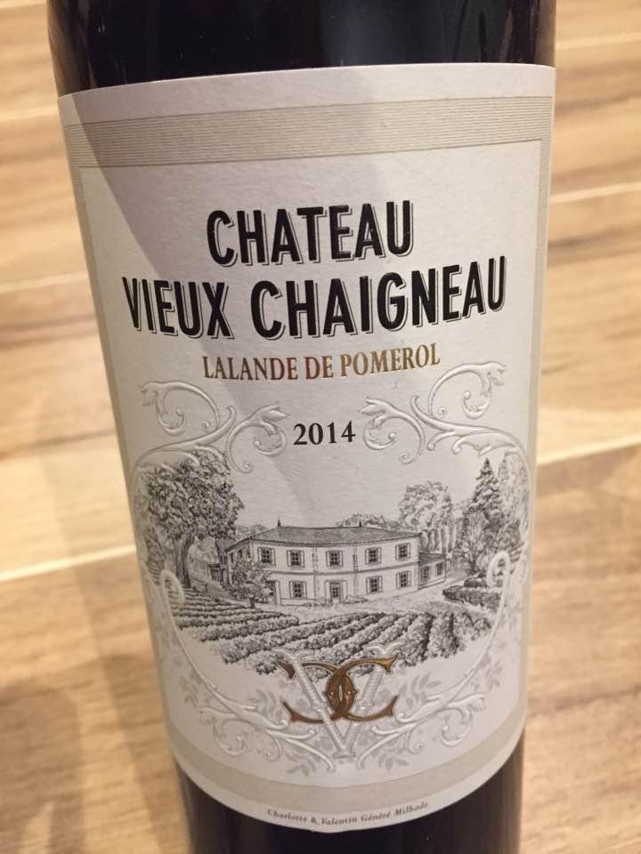 Château Vieux Chaigneau 2014 – Lalande-de-Pomerol