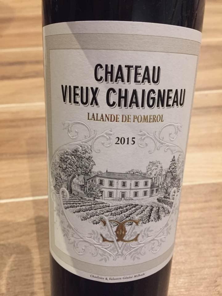 Château Vieux Chaigneau 2015 – Lalande-de-Pomerol