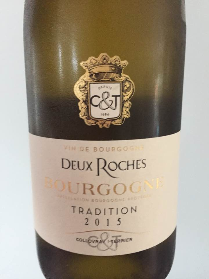 Collovray & Terrier – Deux Roches – Tradition 2015 – Bourgogne