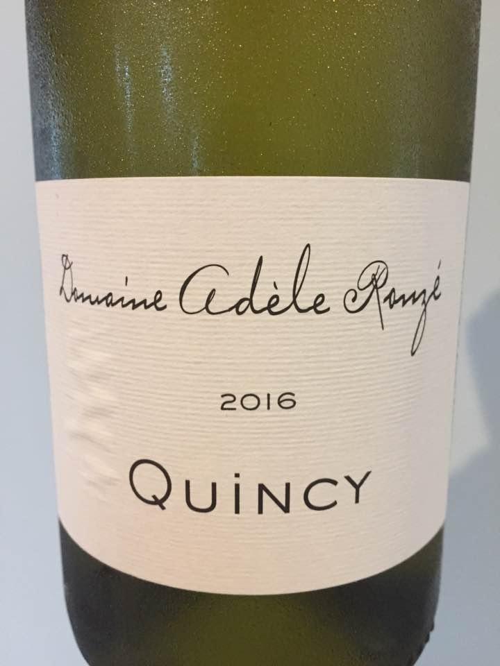 Domaine Adèle Rouzé 2016 – Quincy