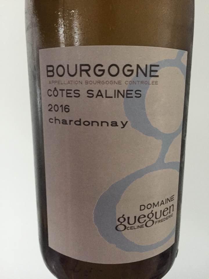 Domaine Celine & Frédéric Gueguen – Cotes Salines 2016 Chardonnay – Bourgogne