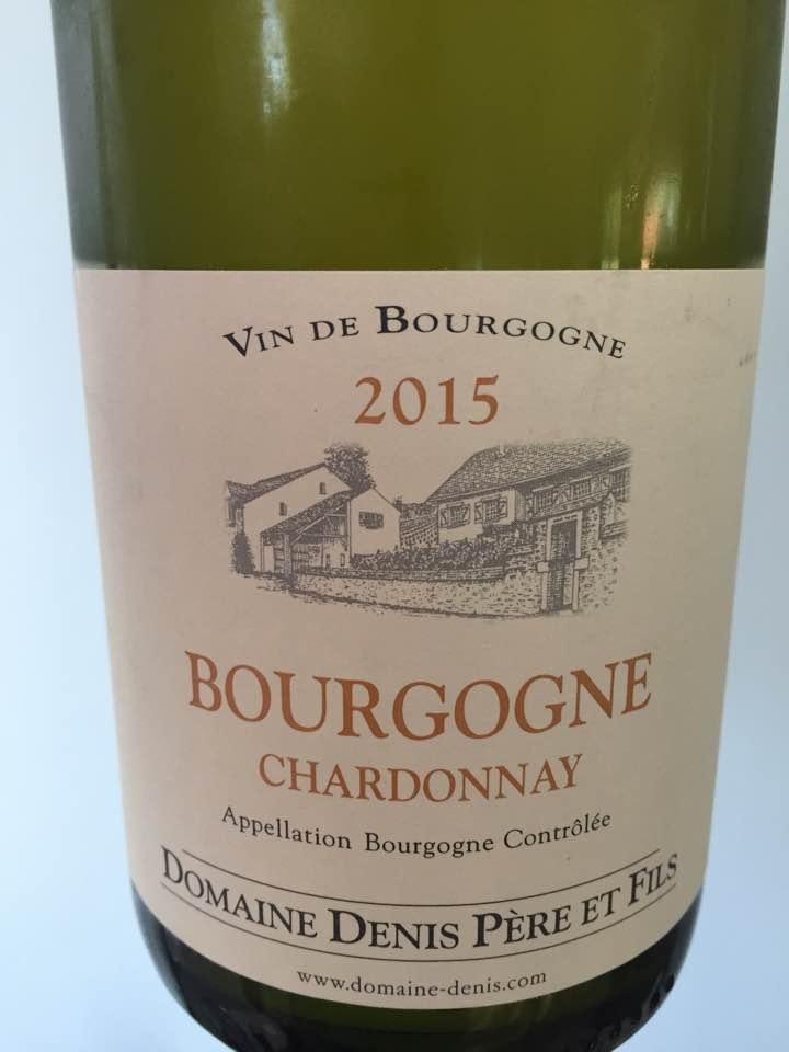 Domaine Denis Père et Fils – Chardonnay 2015 – Bourgogne