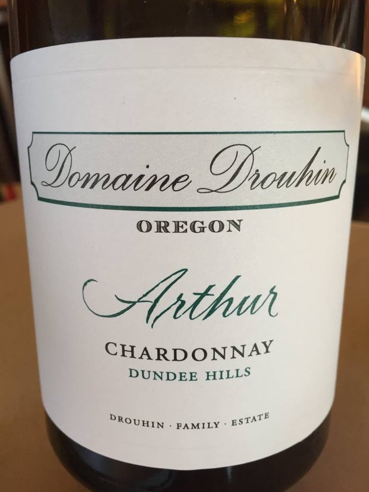 Domaine Drouhin – Arthur – Chardonnay 2015 – Dundee hills – Willamette Valley