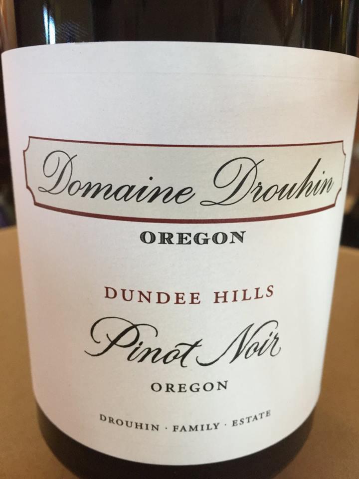 Domaine Drouhin – Pinot Noir 2014 – Dundee hills – Oregon