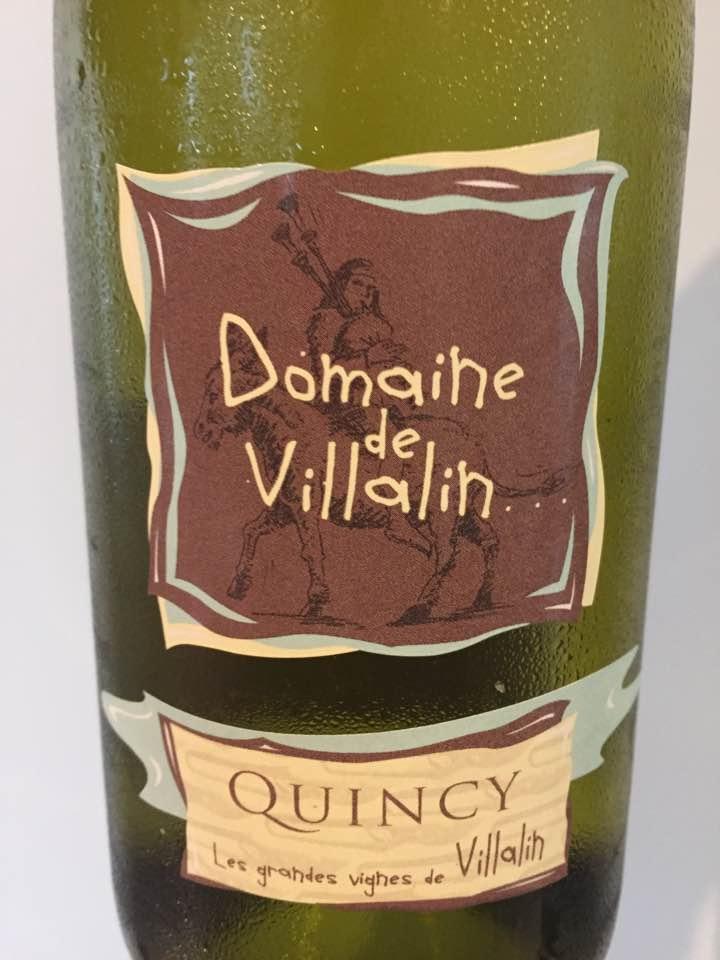 Domaine de Villalin 2016 – Quincy