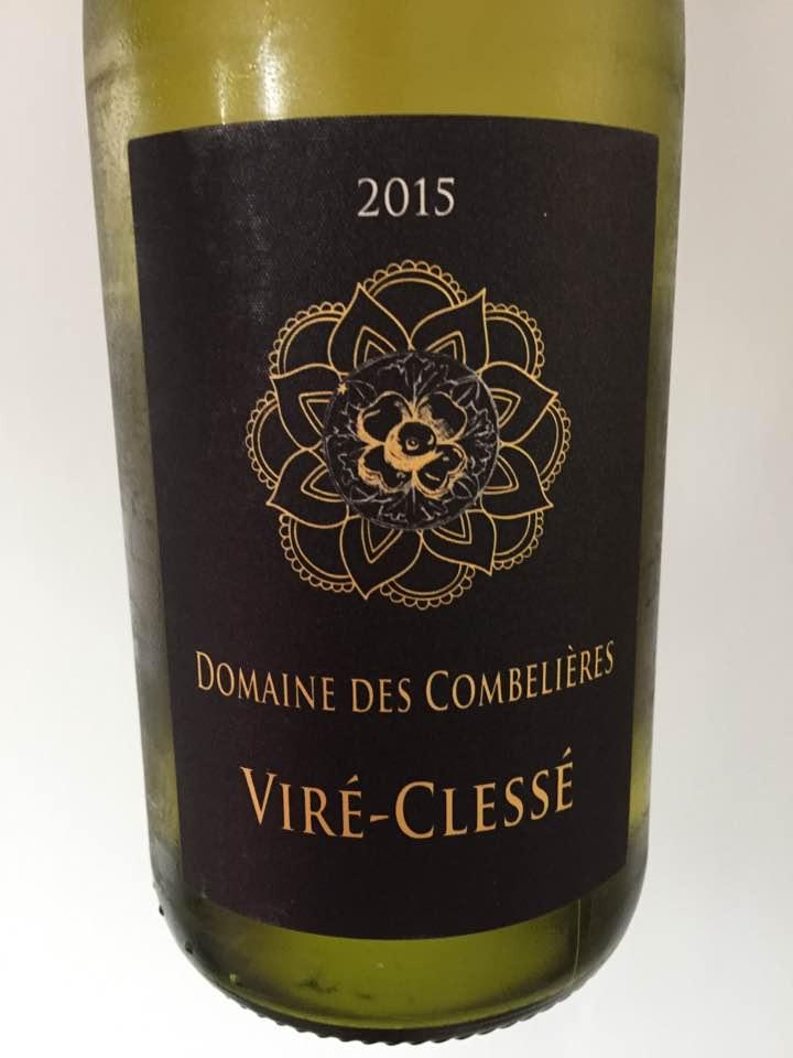 Domaine des Combelières 2015 – Viré-Clessé