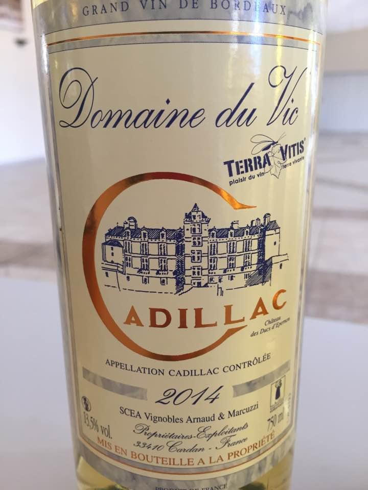 Domaine du Vic 2014 – Cadillac