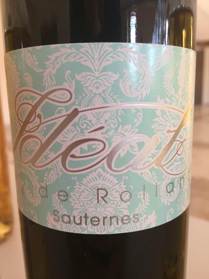 Idée de Rolland 2015 – Sauternes