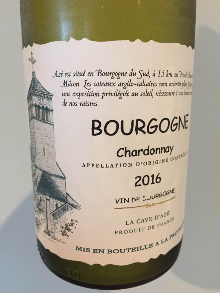 La Cave d'Azé – Chardonnay 2016 – Bourgogne
