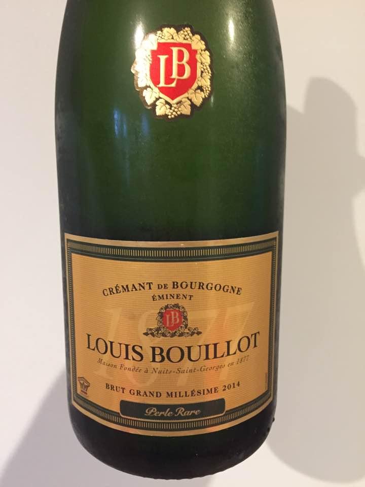 Louis Bouillot – Perle Rare – Brut Grand Millésime 2014 – Crémant de  Bourgogne