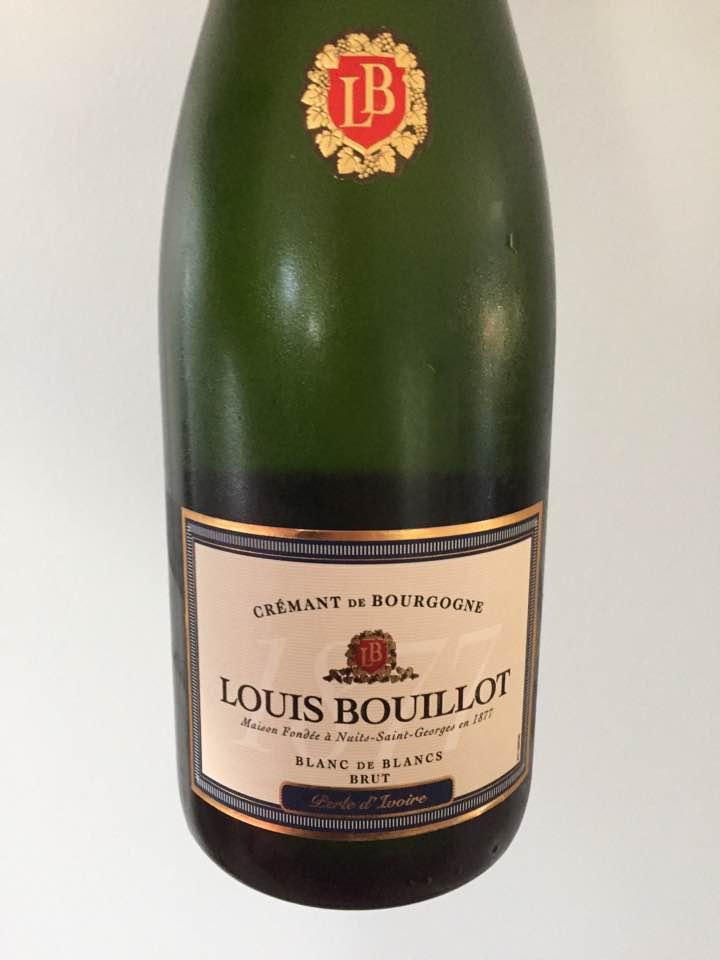 Louis Bouillot – Perle d'Ivoire – Blanc de Blancs – Brut –Crémant de Bourgogne