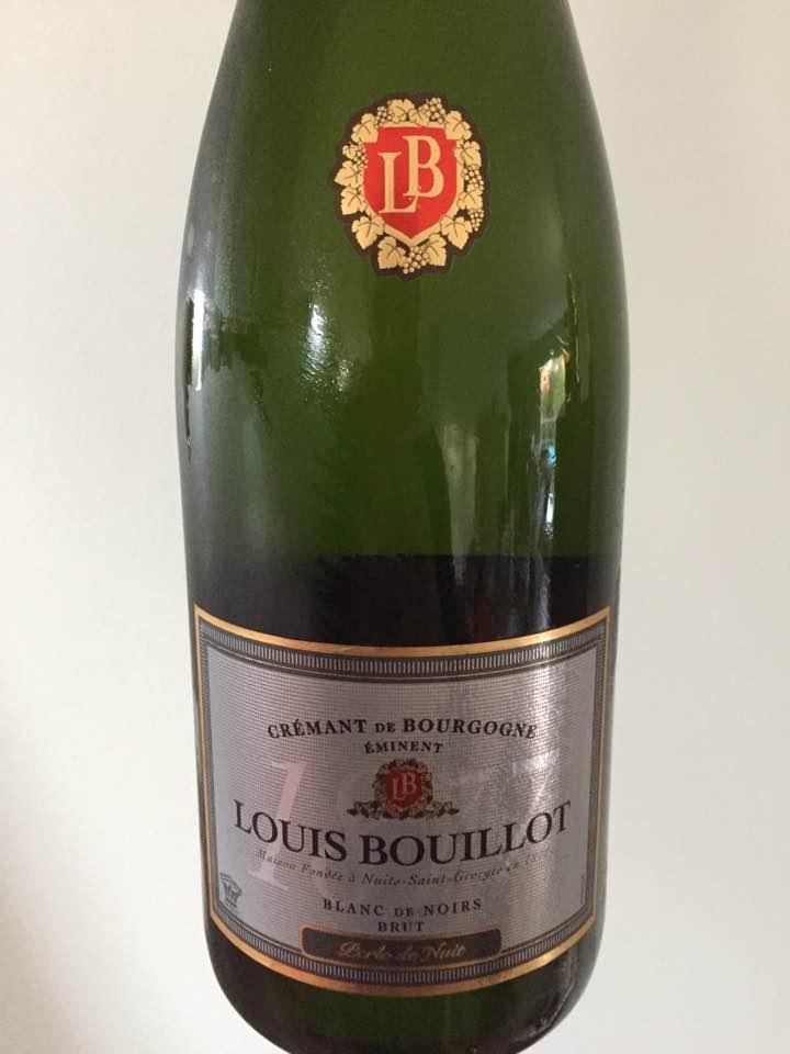 Louis Bouillot – Perle de Nuit – Blanc de Noirs – Brut –Crémant de Bourgogne