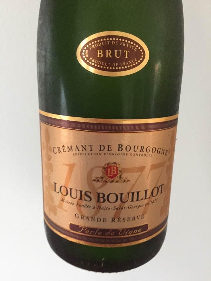 Louis Bouillot – Perle de Vigne – Grande Réserve – Brut – Crémant de Bourgogne
