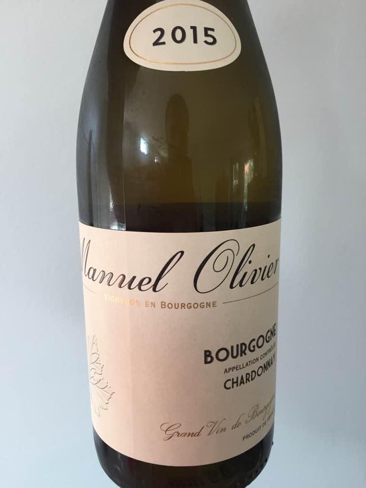 Manuel Olivier – Chardonnay 2015 – Bourgogne