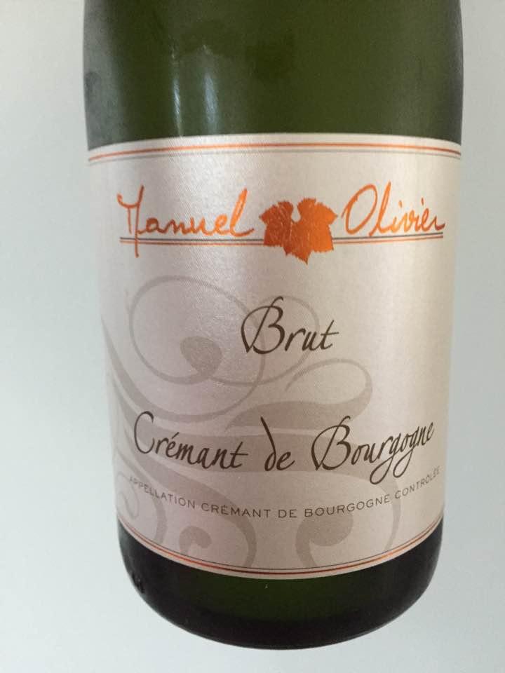 Manuel Olivier – Brut – Crémant de Bourgogne