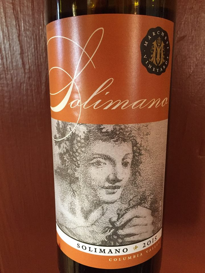 Marchesi Vineyard – Solimano 2015 – Columia Valley