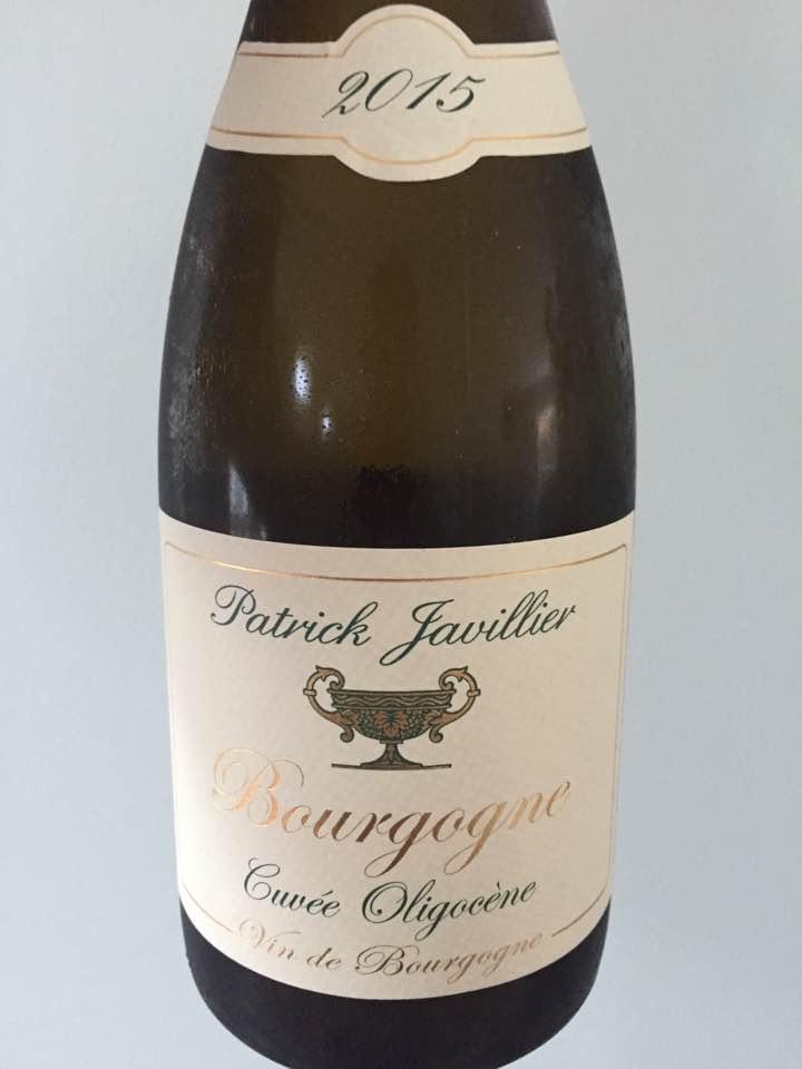 Patrick Javillier – Cuvée Oligocène 2015 – Bourgogne
