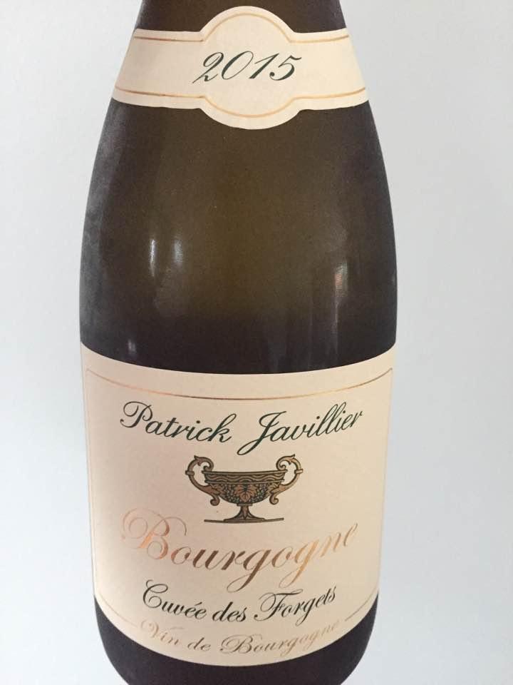 Patrick Javillier – Cuvée des Forgets 2015 – Bourgogne