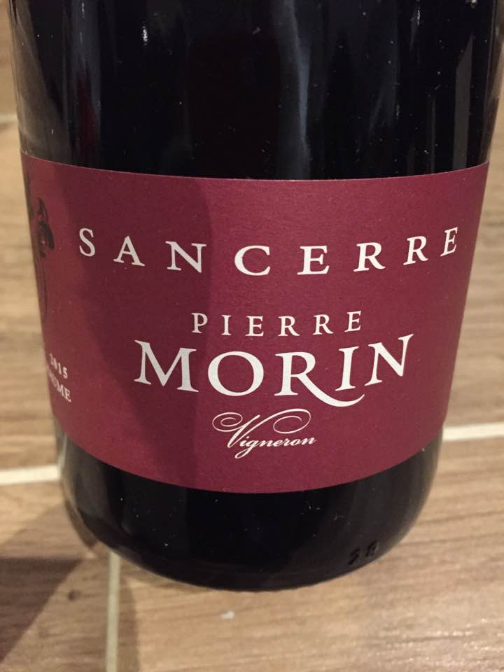 Pierre Morin – Bellechaume 2015 – Sancerre