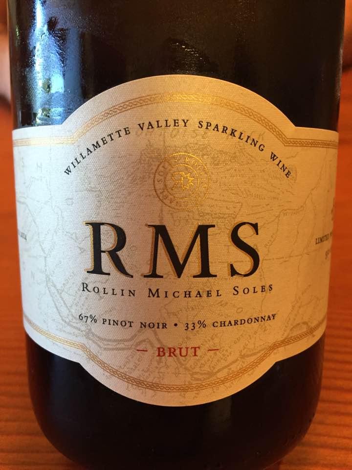 RMS (Rollin Michael Soles) – Vintage 2014 – Brut – Willamette Valley