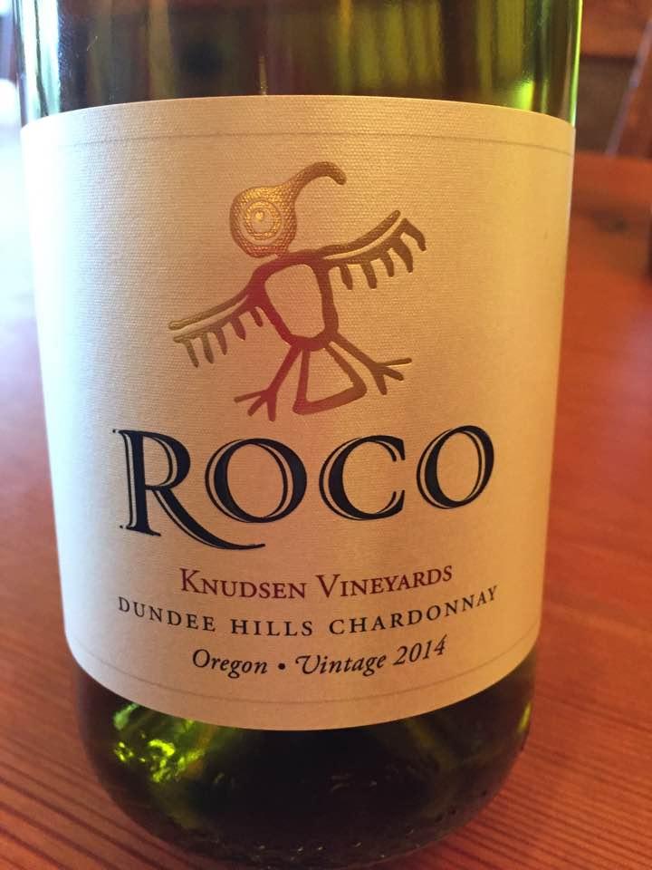 Rocco – Knudsen Vineyards – Vintage 2014 – Chardonnay – Dundee Hills Chardonnay, Oregon