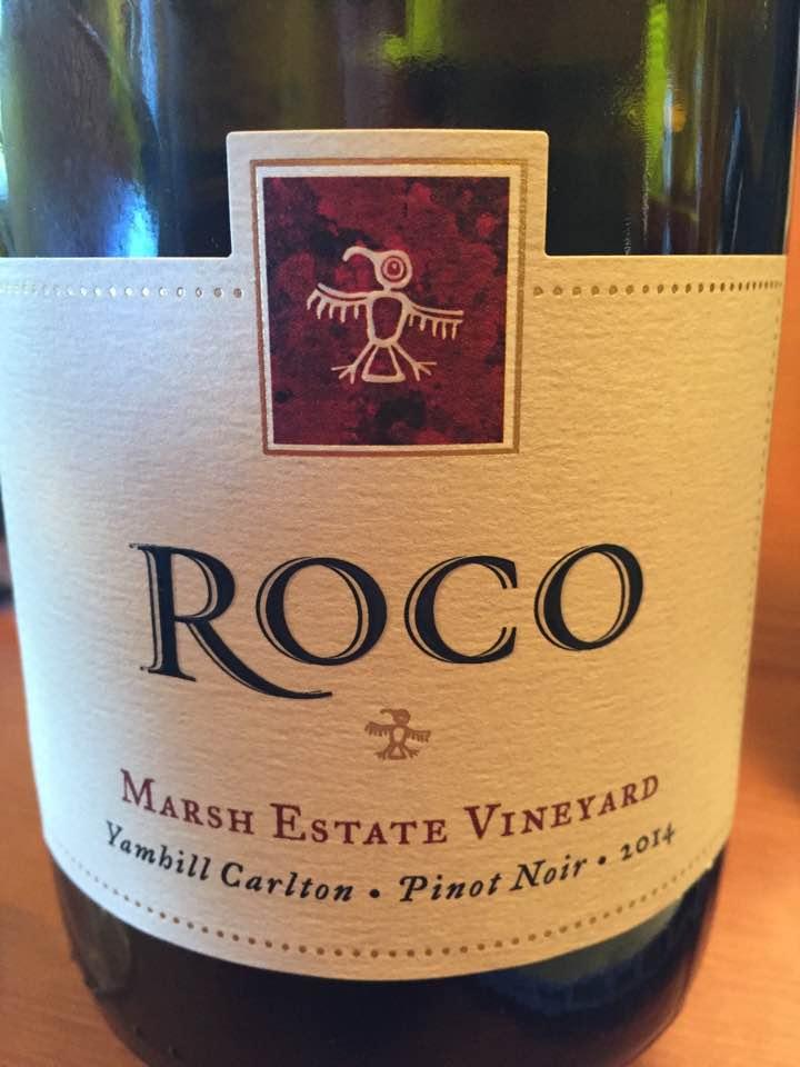 Roco – Marsh Estate Vineyard – Pinot Noir 2014 – Yamhill Carlton, Oregon
