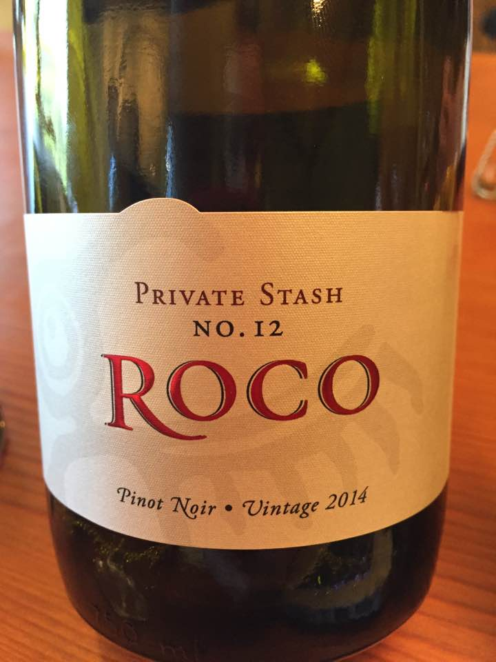 Roco – Private Stash – No°12 – Pinot Noir 2014 – Chehalem Mountains Wit's End Vineyard – Oregon