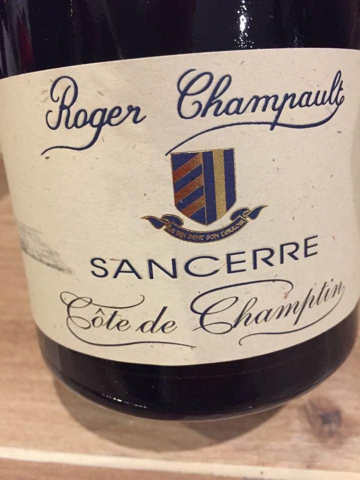Roger Champault – Cote de Champtin 2015 – Sancerre
