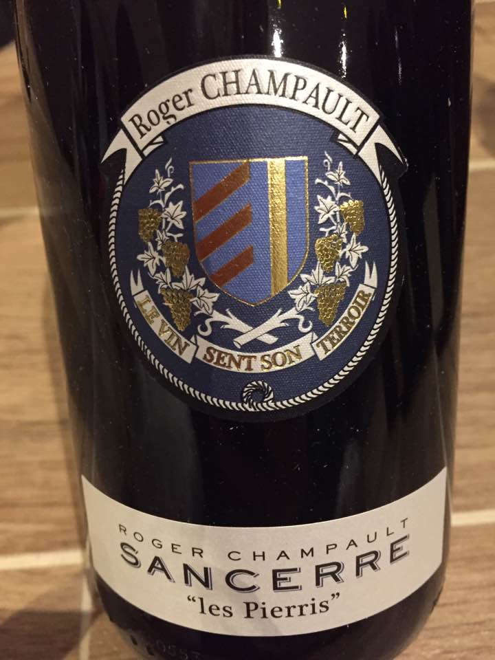 Roger Champault – Les Pierris 2015 – Sancerre