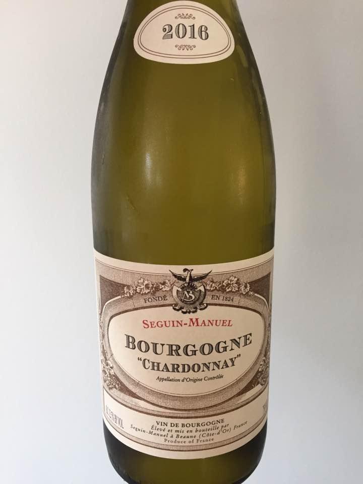 Seguin-Manuel – Chardonnay 2016 – Bourgogne