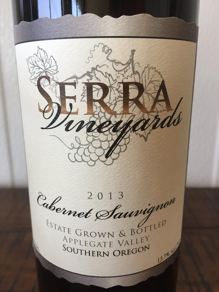 Serra Vineyards – Cabernet Sauvignon 2013 – Applegate Valley, Southern Oregon