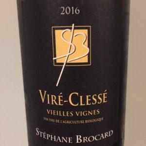 Stéphane Brocard – Vieilles Vignes 2016 – Viré-Clessé