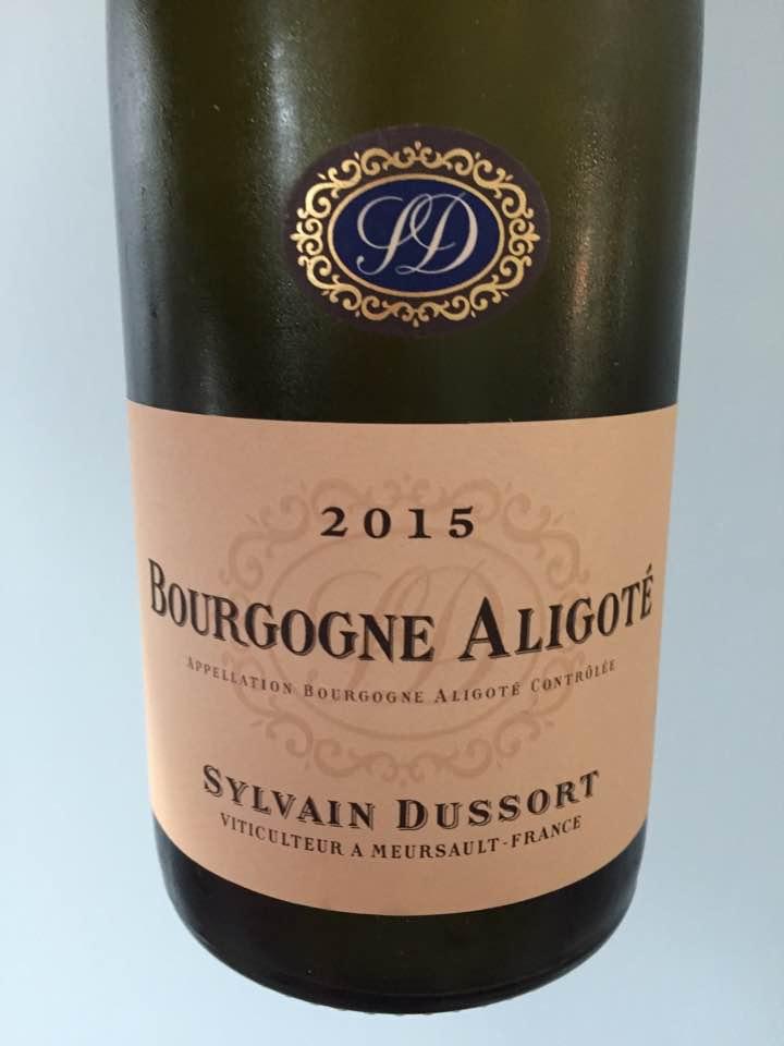 Sylvain Dussort 2015 – Bourgogne Aligoté