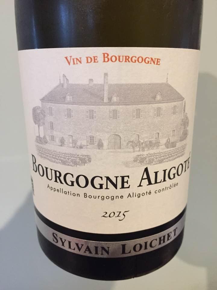 Sylvain Loichet 2015 – Bourgogne Aligoté