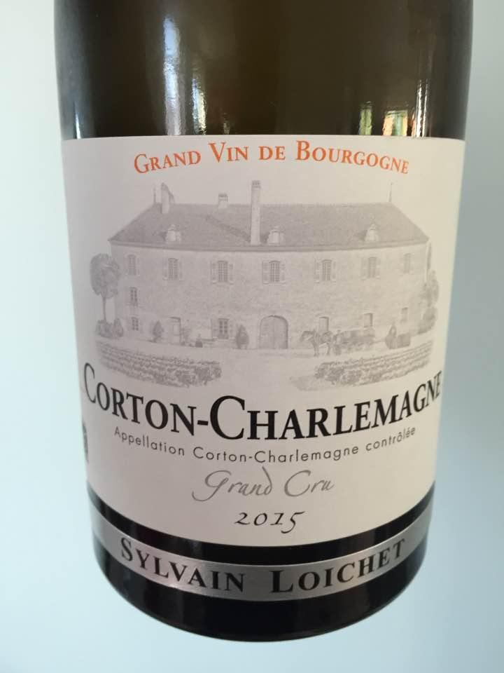 Sylvain Loichet 2015 – Corton-Charlemagne Grand Cru