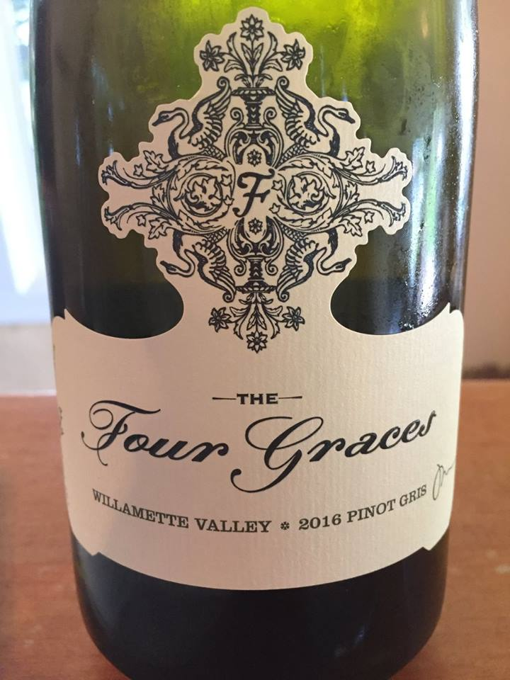 The Four Graces – Pinot Gris 2016 – Willamette Valley