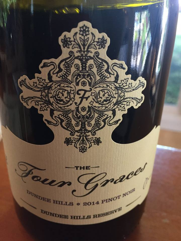 The Four Graces – Pinot Noir 2014 Dundee Hills Reserve – Willamette Valley