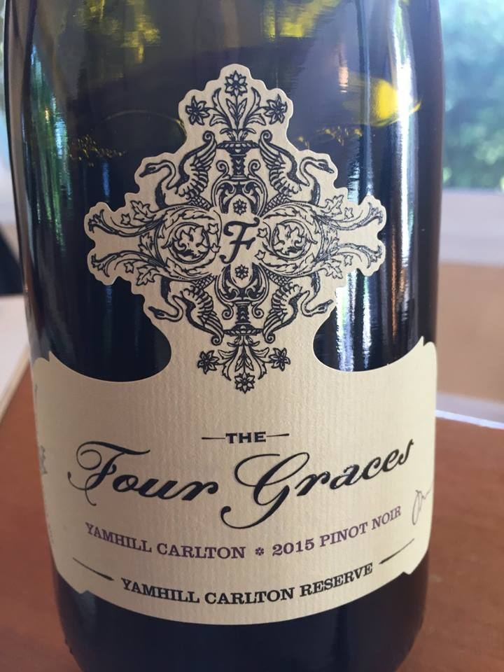 The Four Graces – Pinot Noir 2015 Yamhill Carlton Reserve – Willamette Valley