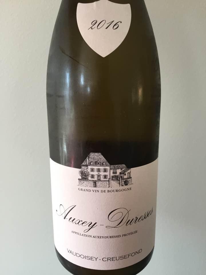 Vaudoisey-Creusefond 2016 – Auxey-Duresses
