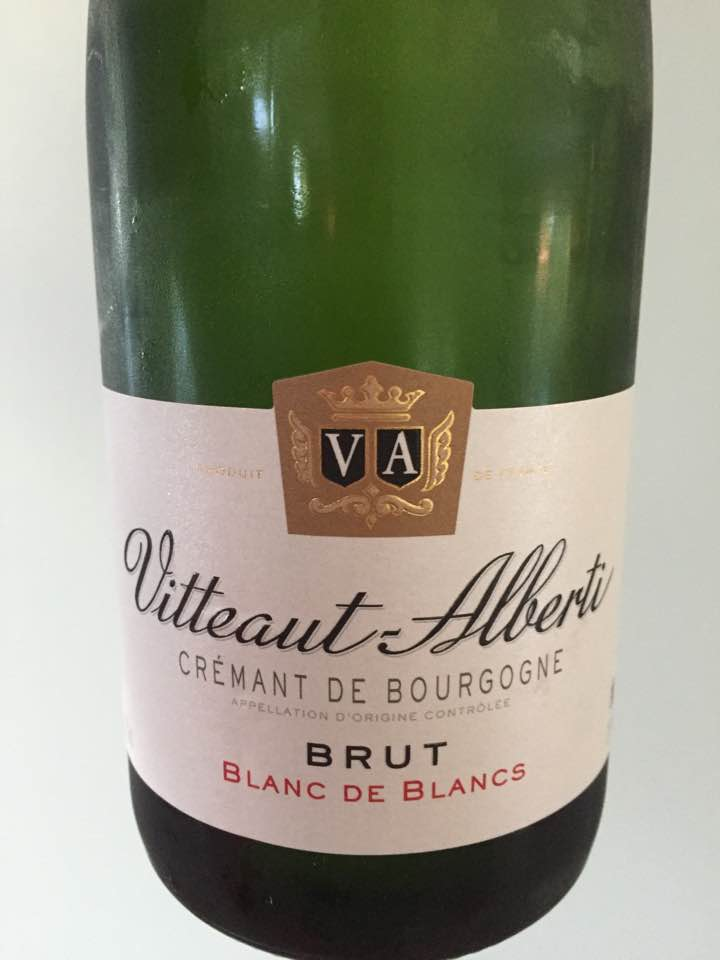Vitteaut Alberti – Blanc de Blancs – Brut –Crémant de Bourgogne