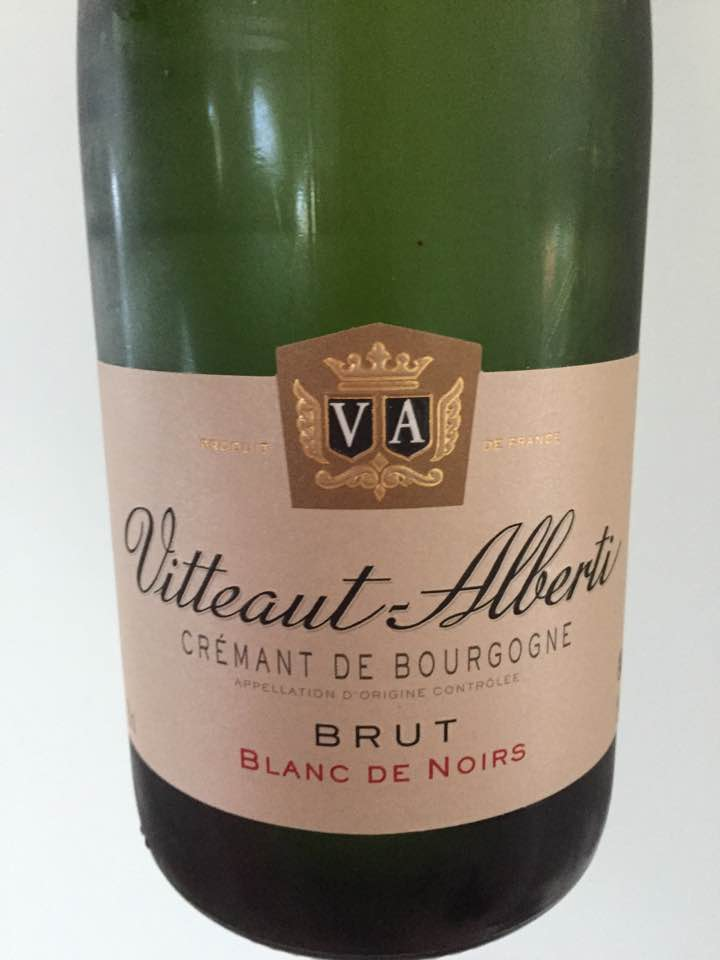 Vitteaut Alberti – Blanc de Noirs – Brut – Crémant de Bourgogne