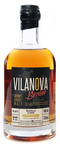 Whisky Vilanova – Cuvée Berbie – Pur Malt – Single Cask