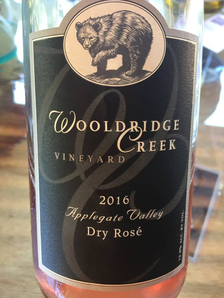 Wooldridge Creek Vineyard – Dry Rosé 2016 – Applegate Valley