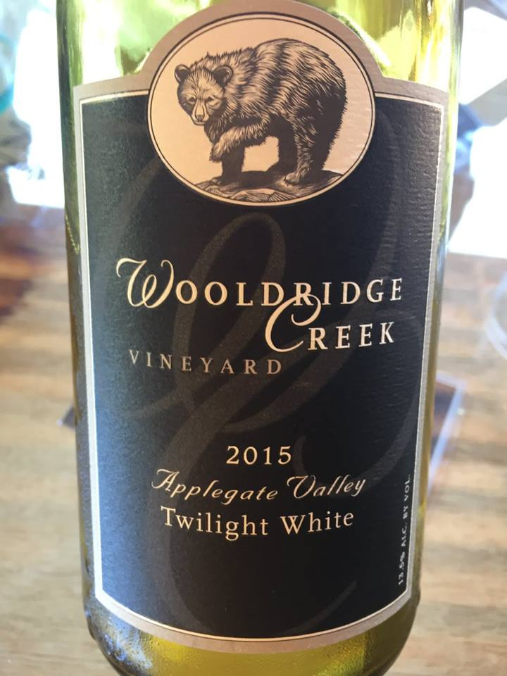 Wooldridge Creek Vineyard – Twilight White 2015 – Applegate Valley
