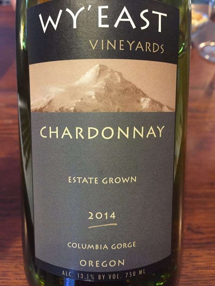 Wy'East Vineyards – Chardonnay Estate Grown 2014 – Columbia Gorge, Oregon