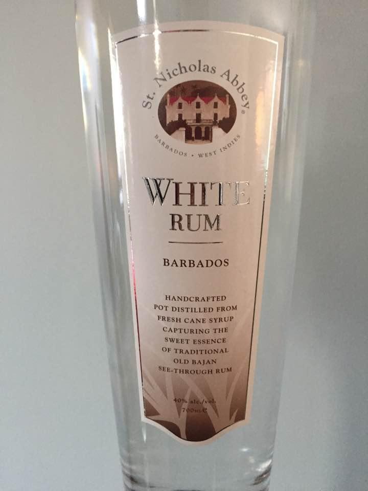 St. Nicholas Abbey – White Rum – Barbados