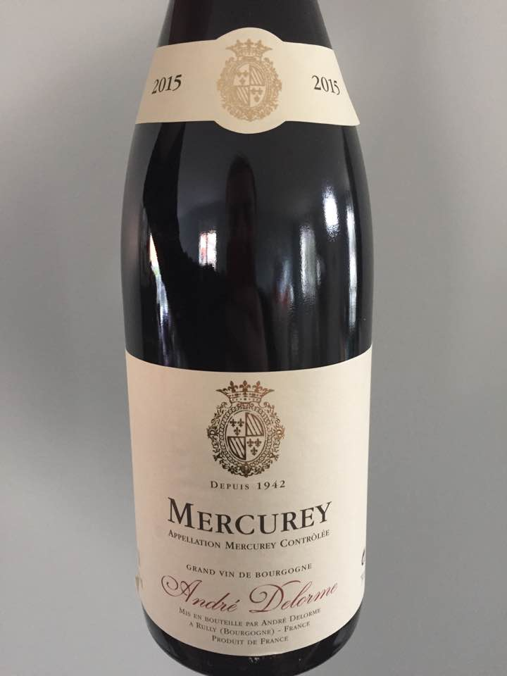 André Delorme 2015 – Mercurey