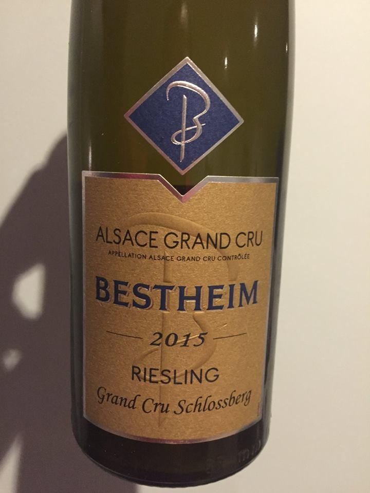 Bestheim – Riesling 2015 – Grand Cru Schlossberg – Alsace