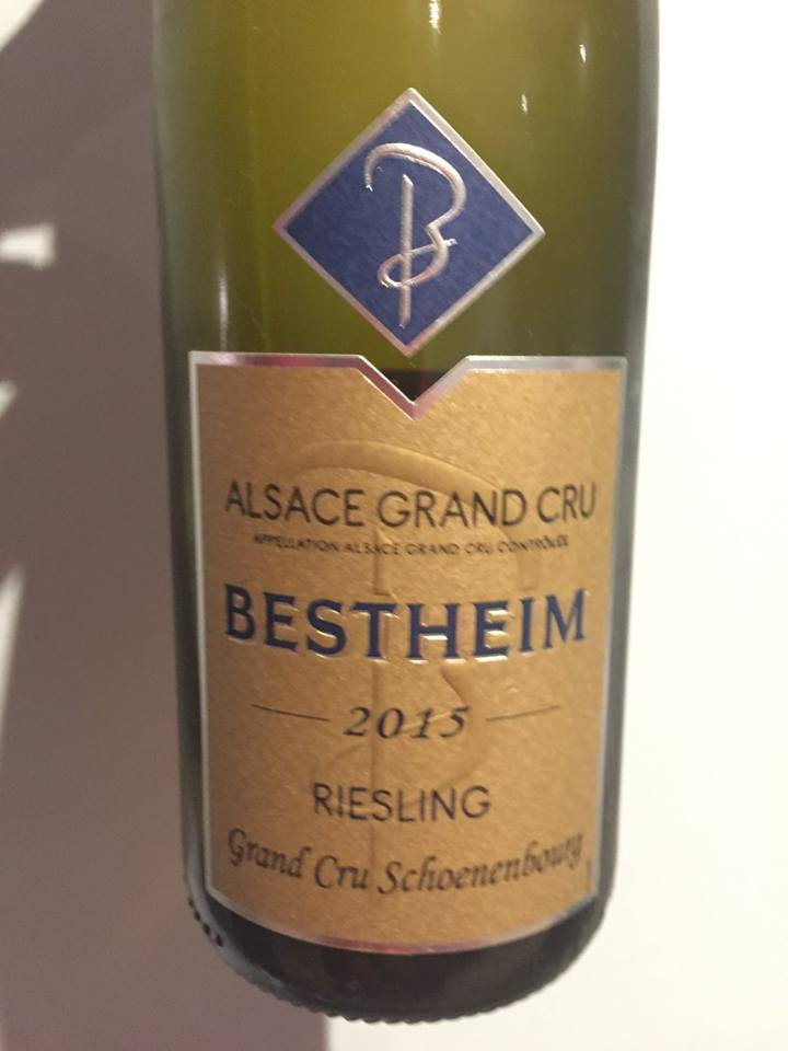Bestheim – Riesling 2015 – Grand Cru Schoenenbourg – Alsace
